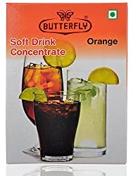 Butterfly Soft Drink Concentrate- Orange, 30 Grams