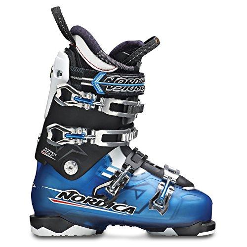 Nordica Nxt N2 2015 Mens Ski Boots 26.0 Mondo, Transparent Light Blue/black