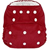 Minky Hero Pocket Cloth Diaper with 5% Active Wick Lining & 2 Microfiber Inserts