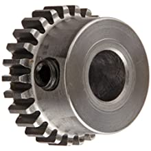 Boston Gear Spur Gear, 14.5 Pressure Angle, Steel, Inch, 32 Pitch