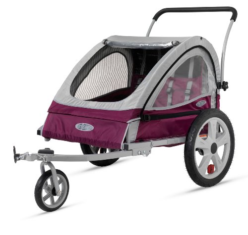 Cheapest Price! InStep Flare Double Bicycle Trailer, Maroon