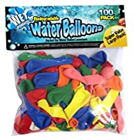 Biodegradable Water Balloons 100 Pack from Wet products