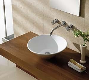 design keramik waschbecken waschtisch aufsatzbecken 127 k che haushalt. Black Bedroom Furniture Sets. Home Design Ideas