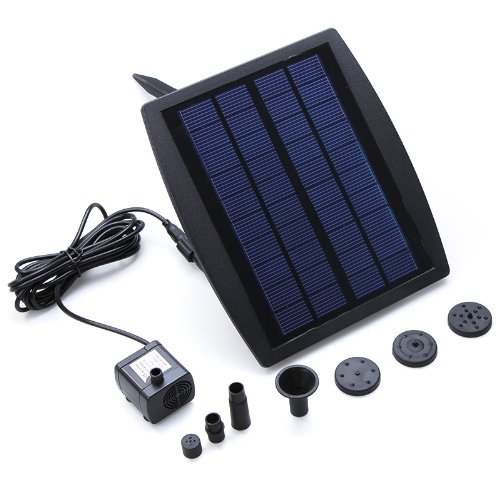Kingzer Solar Power Brushless Dc Water Cycle Pump