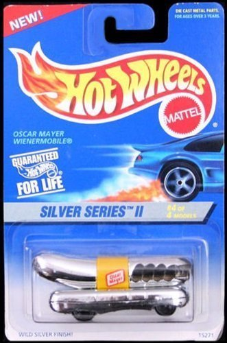 mattel-hot-wheels-1996-164-scale-silver-series-ii-chrome-oscar-mayer-wienermobile-die-cast-car-4-4-b