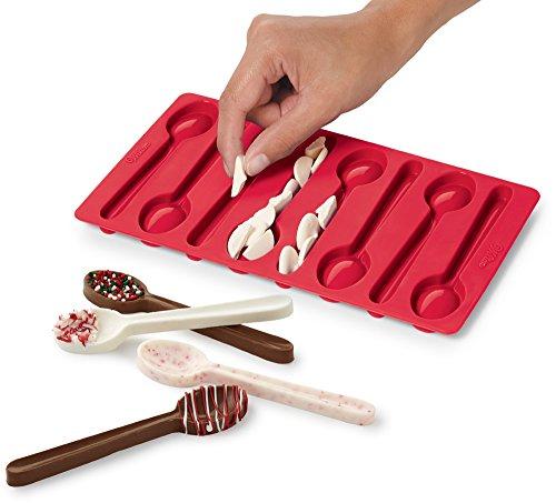 Wilton Edible Spoon Candy Mold (Silicone Baking Supplies compare prices)