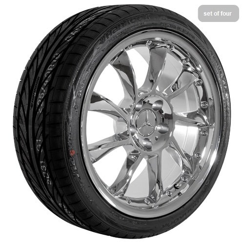 18 Inch Chrome 590 Series Wheels Rims and Tires