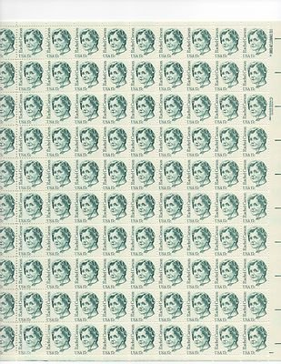 Rachel Carson Sheet of 100 x 17 Cent US Postage Stamps NEW Scot 1857