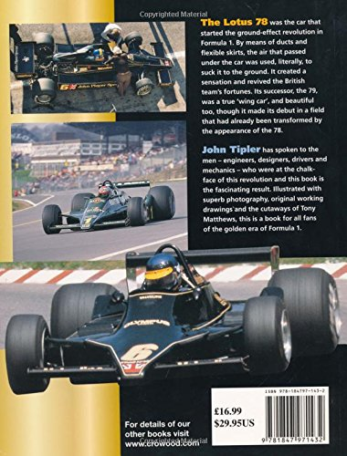 Lotus 78 and 79: The Ground Effect Cars