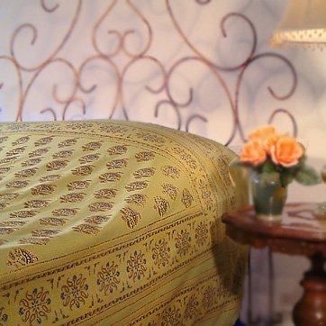 Memories Of Shalimar ~ Asian Oriental Green King Duvet Cover 90X108 front-752637