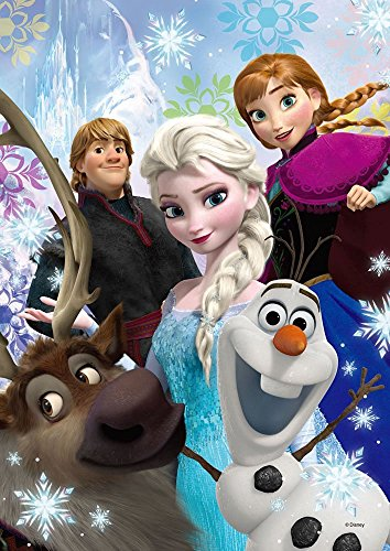 Japan Disney Official Frozen - Anna Elsa and Olaf the Most Important Friends in My Life Jigsaw Puzzle 266 Pieces Classic Movie Cover Medium Size Interior Decorative Art Collection Wonderful Gift