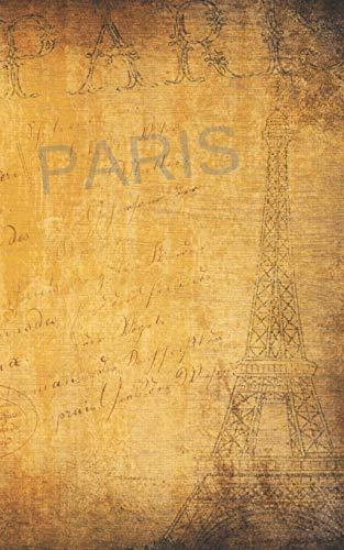 PARIS EDICIÓN BOLSILLO. DIARIO DE VIAJE Y CUADERNO REGISTRO DE HOTELES, VUELOS, LISTA DE EQUIPAJE Y  LUGARES A VISITAR. INCLUYE ADEMÁS PAGINAS ... Y DATOS DE INTERÉS.  [Notebooks, Inspired] (Tapa Blanda)