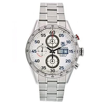 TAG Heuer Men's CV2A11.BA0796 Carrera Automatic Chronograph Watch