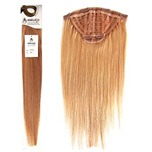 Hair Extensions Remy Human Hair Straight Easy Volume Hair Extensions