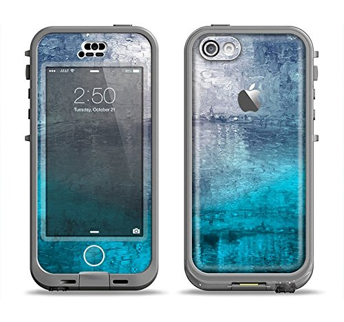 The Abstract Oil Painting Skin for the iPhone 5c LifeProof Nuud Case (CASE NOT INCLUDED)