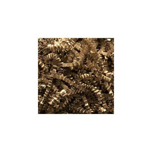 Willow Specialties 1CC10.KRAFT 10 Lb. Kraft Crinkle-Cut Shred - 1 / BX