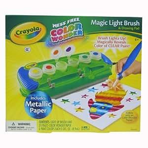 Crayola Color Wonder Magic Light Brush with Metallic Paper