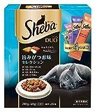 シーバ (Sheba) デュオ 旨みがつお味セレクション 240g(20g×12袋入) SDU13