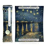 Design Skins for Microsoft Xbox 360 Starry Night over the Rhone Sternennacht  uumlber der Rhone Design F