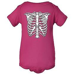Cute Skeleton Halloween Costume One Piece Romper Baby Bodysuit