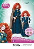 Simplicity 1557 Disney Brave Costumes for Children and Girls K5 (7-8-10-12-14)