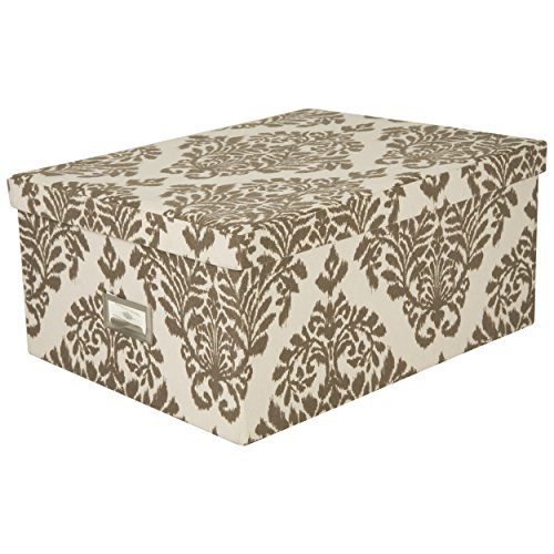 Storage File Boxes Decorative Boxes With Name Plates - decorative name plates for home