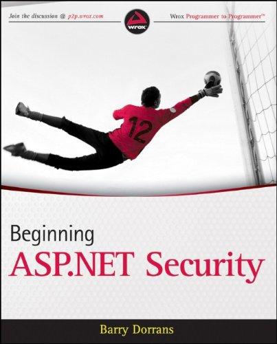 Beginning ASP.NET Security (Wrox Programmer to Programmer)