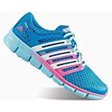 New Adidas Women's ClimaCool Crazy Running Shoes Solar Blue/White/Pink