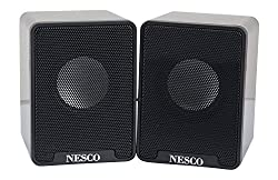 Nesco Multimedia D6 USB 2.0 Notebook Speakers (Black)