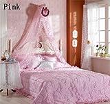 スウィート天蓋カーテン (Pink)