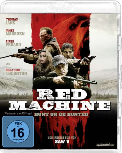 Red Machine - Hunt or be hunted [Blu-ray]