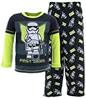 Star Wars Big Boys' Lego Star Wars Empire Pajamas