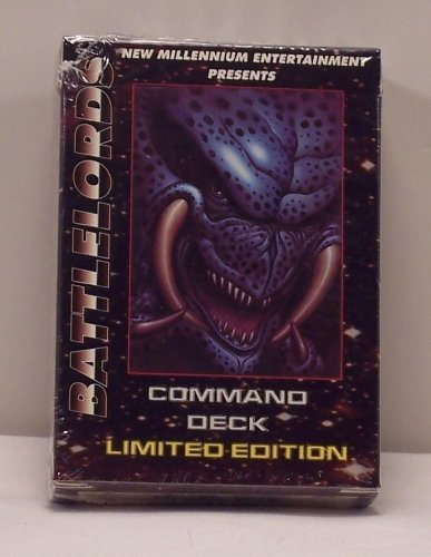 Battlelords Trading Card Game Limited Edition Command Deck