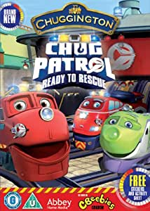 ALL NEW Chuggington - Chug Patrol : Ready To The Rescue - INCLUDES FREE STICKERS AND ACTIVITY SHEET [DVD]