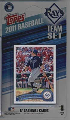 2011 Topps Limited Edition Tampa Bay Rays Baseball Card Team Set (17 Cards) - Not Available In Packs!!