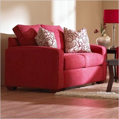 Buy Low Price Majestic Imports Furniture Booth Microfiber Loveseat (Booth Loveseat)
