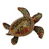 Wild Sea Turtle Box Swarovski Crystals Hawaiian Green Loggerhead Flatback Turtle Figurine