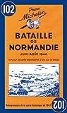 echange, troc Cartes Michelin - Carte historique : Bataille de Normandie, N° 102