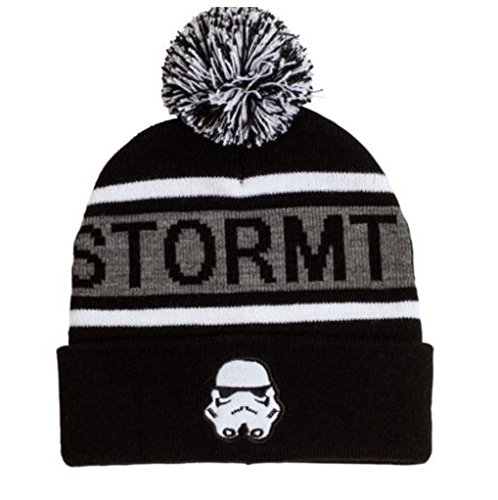 Stormtrooper ~Winter Knit Beanie Hat ~ Adult Size