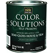 - CS49W0701-44 Color Solutions Latex Semi-Gloss Self-Priming Exterior House And Trim Paint