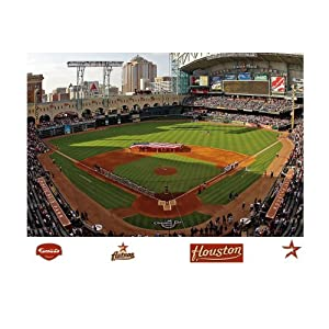 MLB Houston Astros Inside Minute Maid Park Mural Wall Graphic