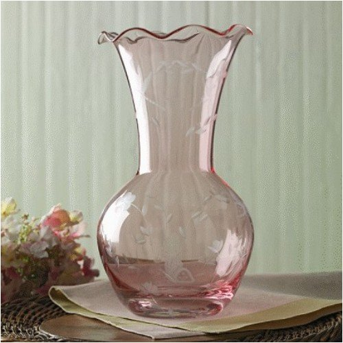 LENOX BUTTERFLY MEADOW GLASS VASE PINK - Buy LENOX BUTTERFLY MEADOW GLASS VASE PINK - Purchase LENOX BUTTERFLY MEADOW GLASS VASE PINK (LENOX - BUTTERFLY MEADOW COLLECTION - Made in Not, Home & Garden, Categories, Kitchen & Dining, Tableware)