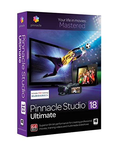 Pinnacle Studio 18 Ultimate (Old Version) (Corel Video Studio Ultimate compare prices)