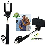 CLD Brands Adjustable Monopod - Selfie Photos - Camera Stick - Includes Clamp Holder For iPhone & Smartphones