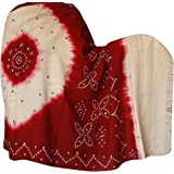 Winter Accessories Folk Shawls Tie Dye Wool Ladies Gift 203 x 88 Cmby ShalinIndia