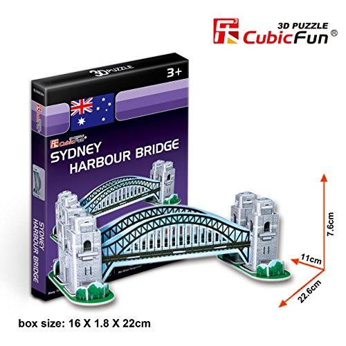 Cubic Fun 3D Puzzle - Sydney Harbour Bridge (S3002h) - 1