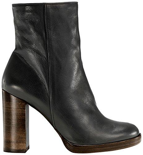 Castañer - CHANTAL / calf leather, Stivaletti da Donna, Nero(Black), 35