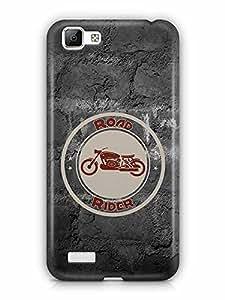 YuBingo Road Rider Designer Mobile Case Back Cover for Vivo V1