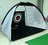 STARDUST 【 組立 簡単 】 ゴルフ 練習 ネット セット (収納袋付き) SD-KINGNET-BK-S