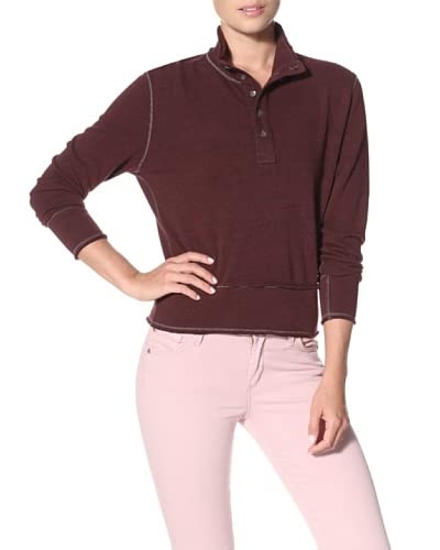 Agave Women's Betsy Long Sleeve Mock Neck Top